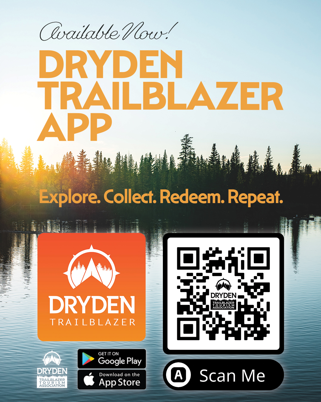 """Featured image for """"Now Available – Dryden Trailblazer Mobile App – Download for Free!"""""""